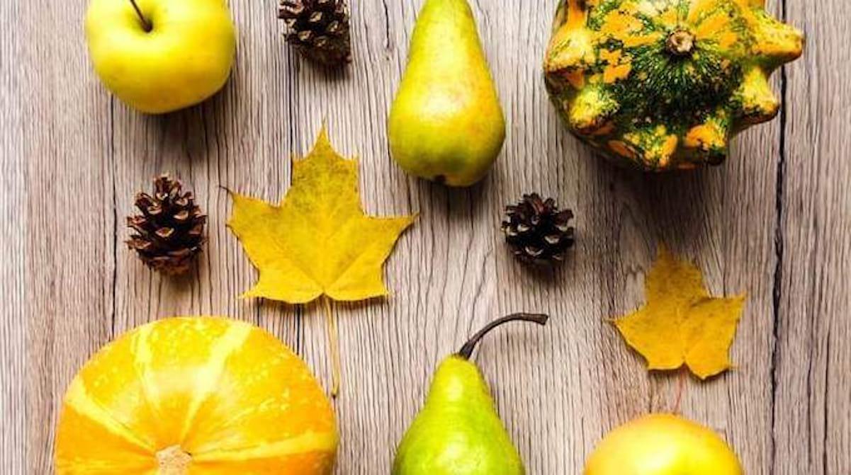 Fruits et légumes de saison Novembre